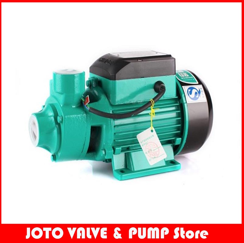 QB-60 Small Household Jet Pump 370W 1600L/H 220V Centrifugal Water Pump 0 75kw self priming water pump for high rise wells in the river lake 220v household jet garden pump 4 5m3 h big capacity