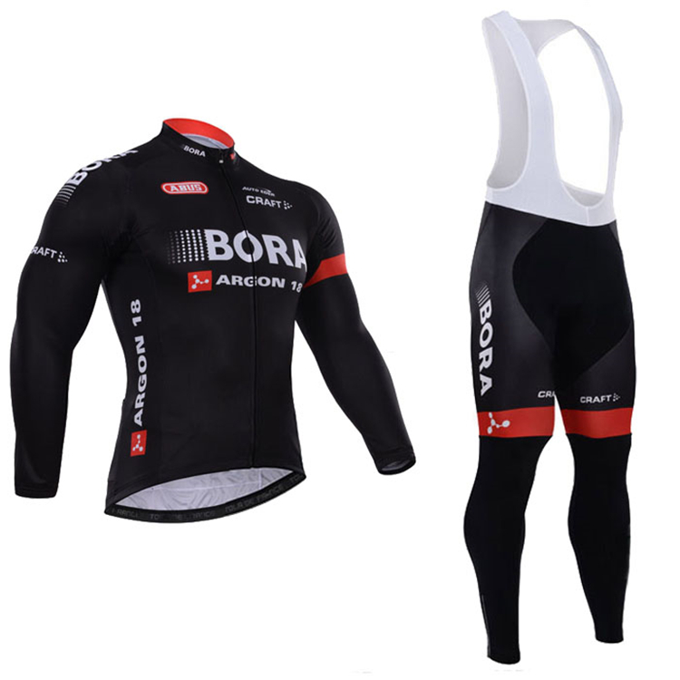 Bora Argon 18 ropa ciclismo hombre 2016 Long Sleeves cycling jersey mtb bike maillot mountain Bicicleta cycling clothing set