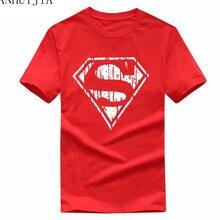 2018 Mens T Shirt Superman Batman Captain America the Flash Marvel Movie Men Cosplay T-Shirts superhero Geek Tee Brand clothing