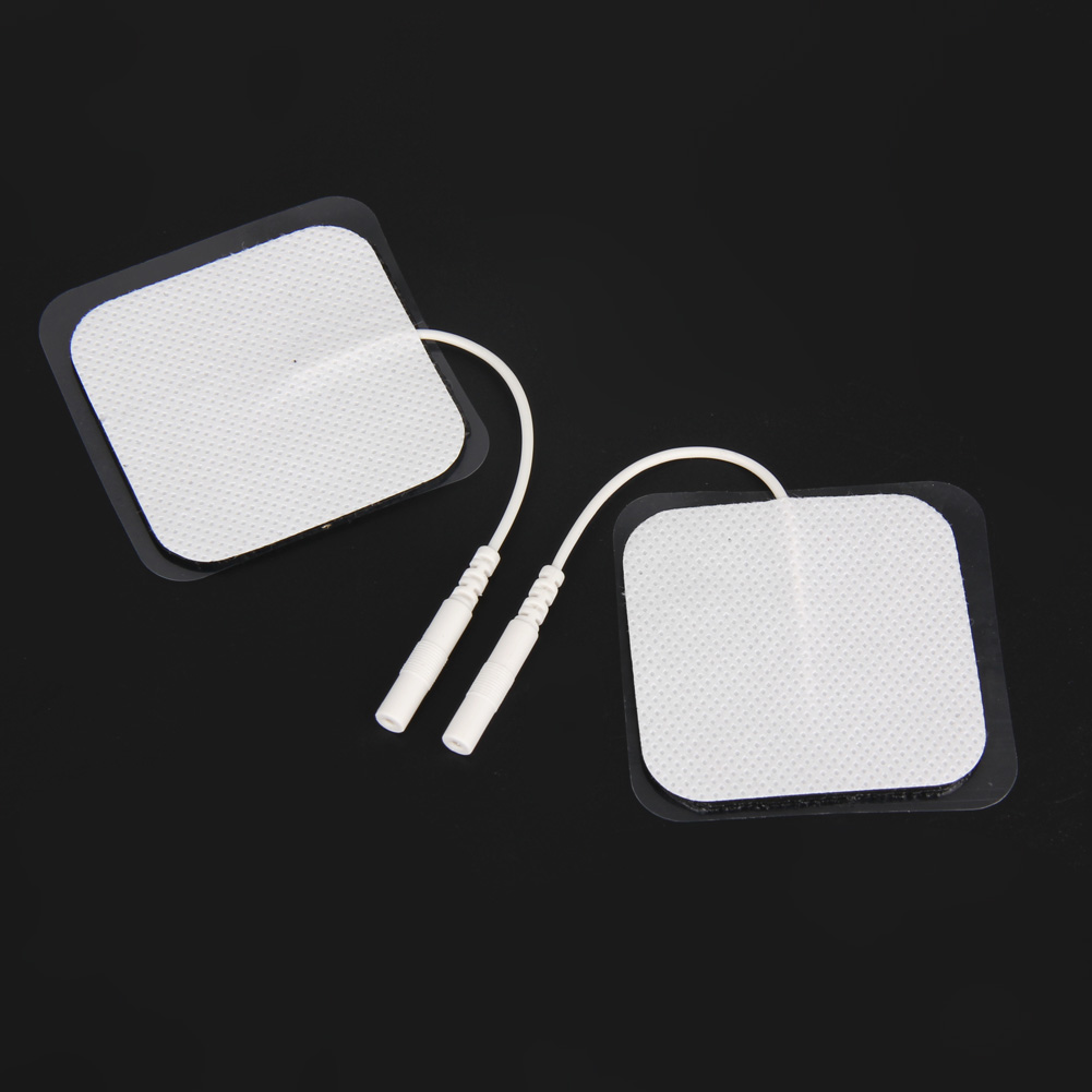 20Pcs Self-adhesive Replacement Pad for Physiotherapy Massager Stick Tens Therapy Machine Units Electrodes Pads kitfel58024unv35668 value kit fellowes polyester mouse pad fel58024 and universal standard self stick notes unv35668