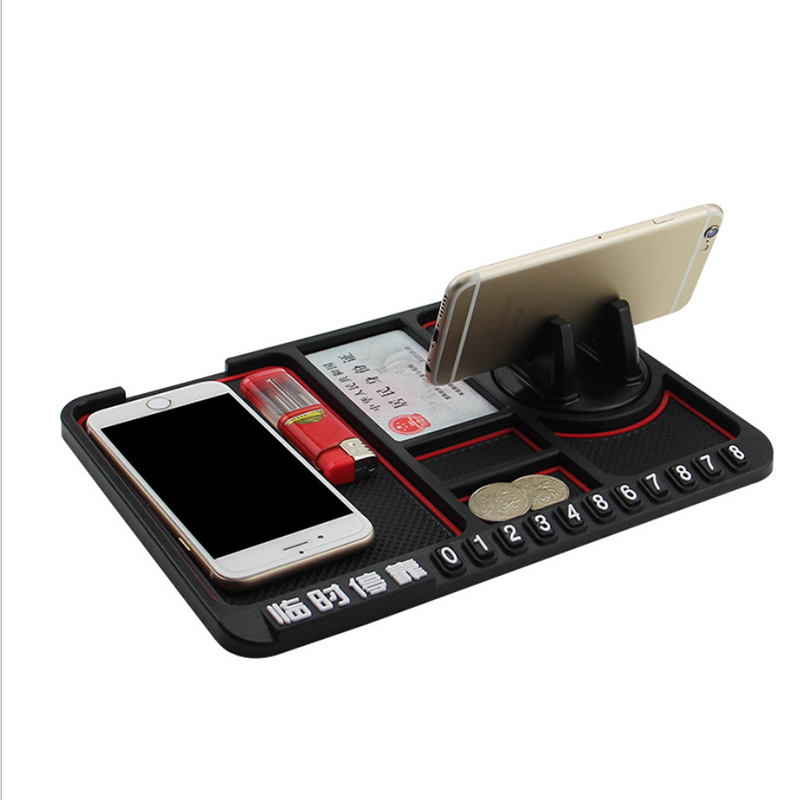 Image 3 - Anti Slip Mat Car Smartphone Stand Car Gadgets And Accessories Sticky Pad For Smart 453 Anti Slip Multi Function Parking Card-in Anti-Slip Mat from Automobiles & Motorcycles