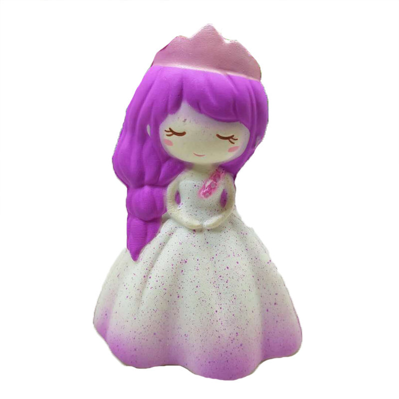 Baby Educational Toys Baby child's toy PU cartoon princess 2 colors chosen to girl's birthday gift toy