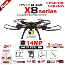 SYMA X8G X8C X8W X8HG RC Drone With SJ7000 14MP 1080p Full HD WiFi Camera 2.4G 4CH FPV Quadcopter Professional Drone