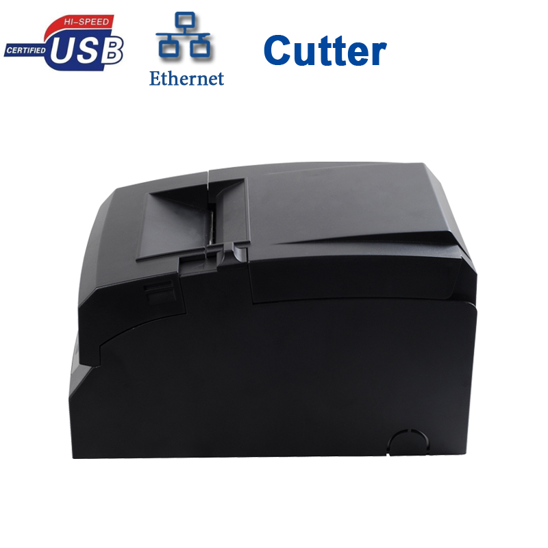 DOT MATRIX USB SSERIAL LAN PORT WITH CUTTER PRINTER HS-D76USLC