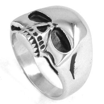 Skull Biker Ring 1