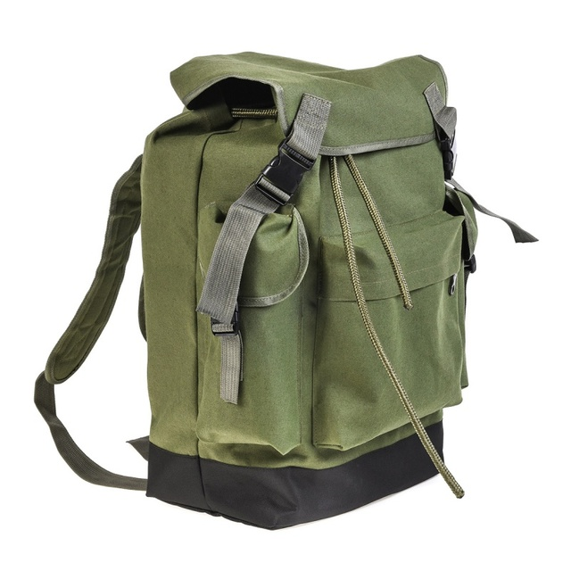 Special Offers Dropshipping Multifunction Fishing Bag Portable Canvas Fishing Lure Reel Shoulder Waist Backpack Bag 45x32x22cm