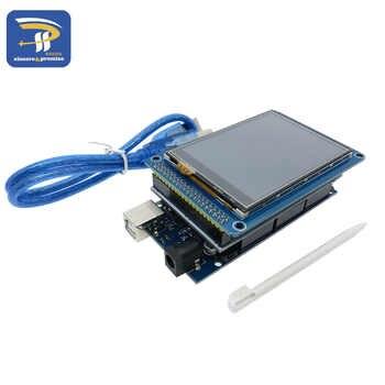 """3.2 \""""TFT 液晶タッチ + TFT 3.2 インチシールド + メガ 2560 R3 のための usb ケーブルキット"""