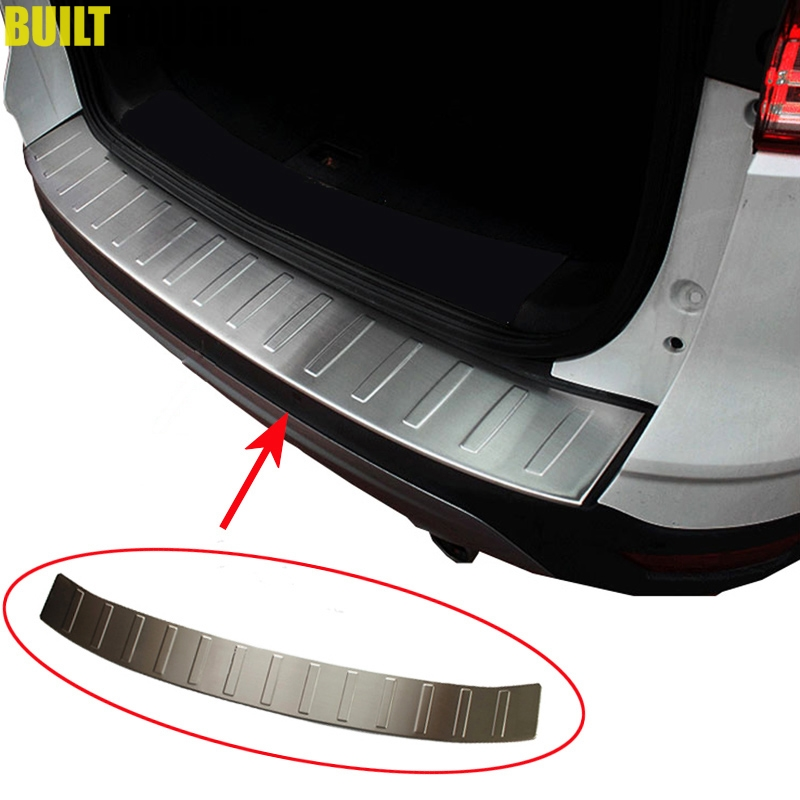 For Ford Escape Kuga 2013 2014 2015 2016 2017 2018 Rear Trunk Bumper Protector Step Panel