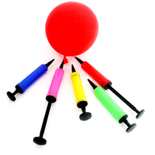 1PC Mini Balloon pump Hand Held hand push Air Pump Two kinds of needles Inflator Portable Useful Tools