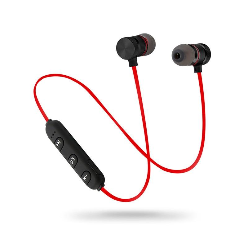Magnet Sport In-Ear Bluetooth Earphone Earpiece Handsfree Stereo Headset for Samsung Galaxy J3 (2016) SM-J320FDS fone de ouvido