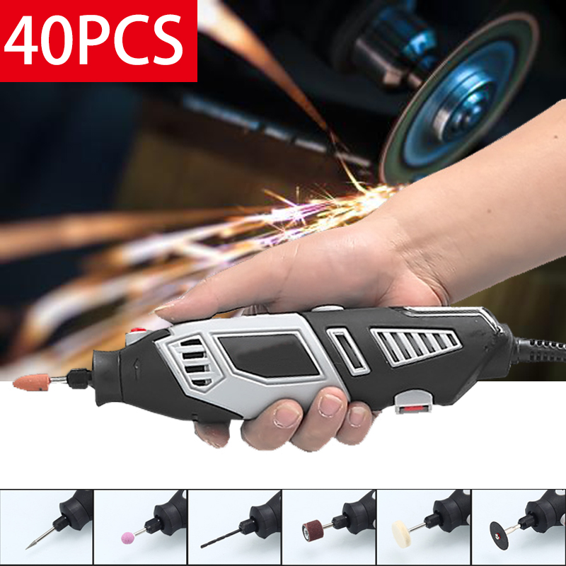 6?gears Speed?Adjustment Rotary Tools Electric Grinder Set Cutting Mini Drill Machine Polishing Electric drill hoomall electric drill cutting seat stand machine bracket tools set fit for angle grinder accessories polishing cutting 10 13mm