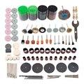 161 шт. мини-дрель  набор аксессуаров для вращающихся инструментов  набор шлифовальных полировальных инструментов для микро-дрели  вращающей...