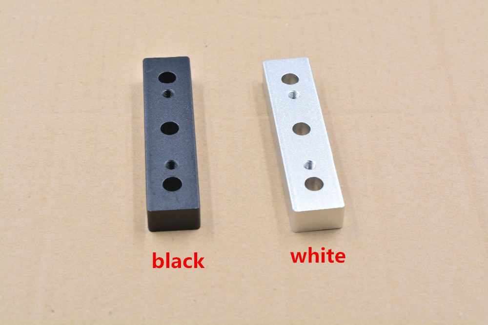 3d printer Openbuilds OX CNC machine part V slot aluminum alloy spacer block openbuilds Spacer Block for gantry pate top 1pcs