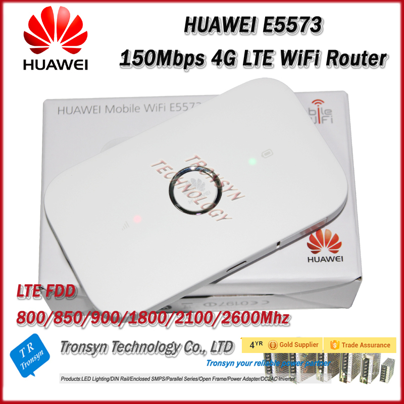 Brand New Original Unlock LTE FDD 150Mbps HUAWEI E5573 4G Router With Sim  Card Slot And 4G LTE WiFi Router - MODEM