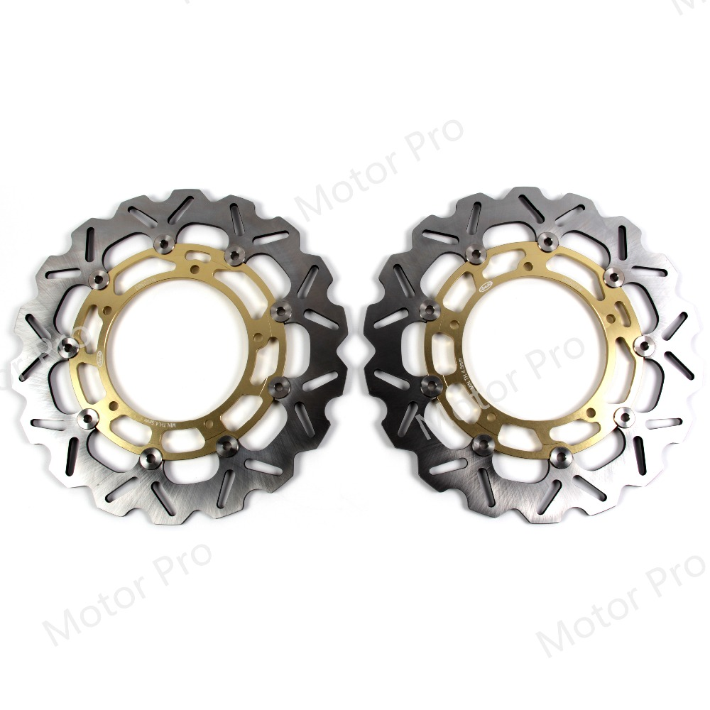 For Yamaha YZF R1 2007 2011 Front Brake Disc Rotor Disk Motorcycle Accessories CNC Aluminum YZF