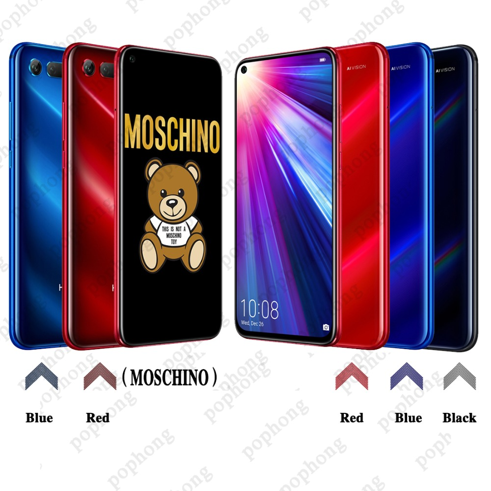 Original HONOR View 20 Honor V20 Smartphone 6GB 128GB Kirin 980 Octa Core Android 9.0 NFC fast charge Fingerprint ID-in Cellphones from Cellphones & Telecommunications    2