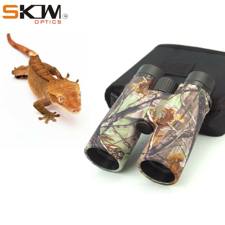 Free shipping SKW optics 8x42 camo Binoculars for birdwatching with Waterproof Hunting Bak4 High Power