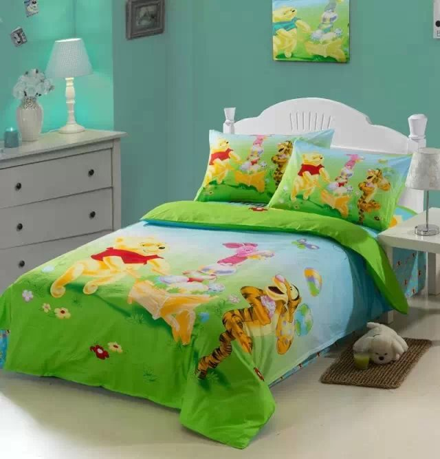 + tessile vs mk00201 disney piumone con + tessile pali set interbaby completo. Yellow Winnie The Pooh Cartoon Comforter Bedding Set Single Twin Size Quilt Duvet Covers Coverlet Boys Home Decor 3pc Host Sale Buy At The Price Of 48 59 In Aliexpress Com Imall Com