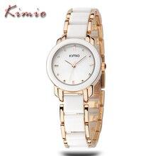 KIMIO Woman Watches Top Brand Luxury Reloj Oro Rosa Mujer Montre Etanche Femme Ladies Bracelet Quartz Watches Relogio Feminino