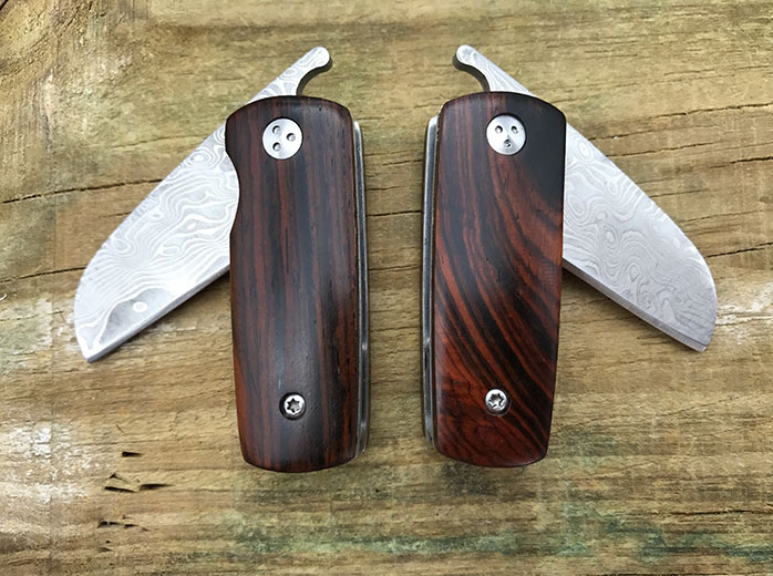 Купить с кэшбэком Vellance Folding Pocket Knife Portable Wood Handle Tactical Camping Survival Knives Utility Mini Outdoor Hunting Knife EDC Tools