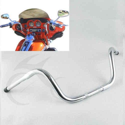 SLMOTO Chrome FAT 1-1//4 10 Ape Hanger Handlebar Fit for Harley FLST FXST Sportster XL