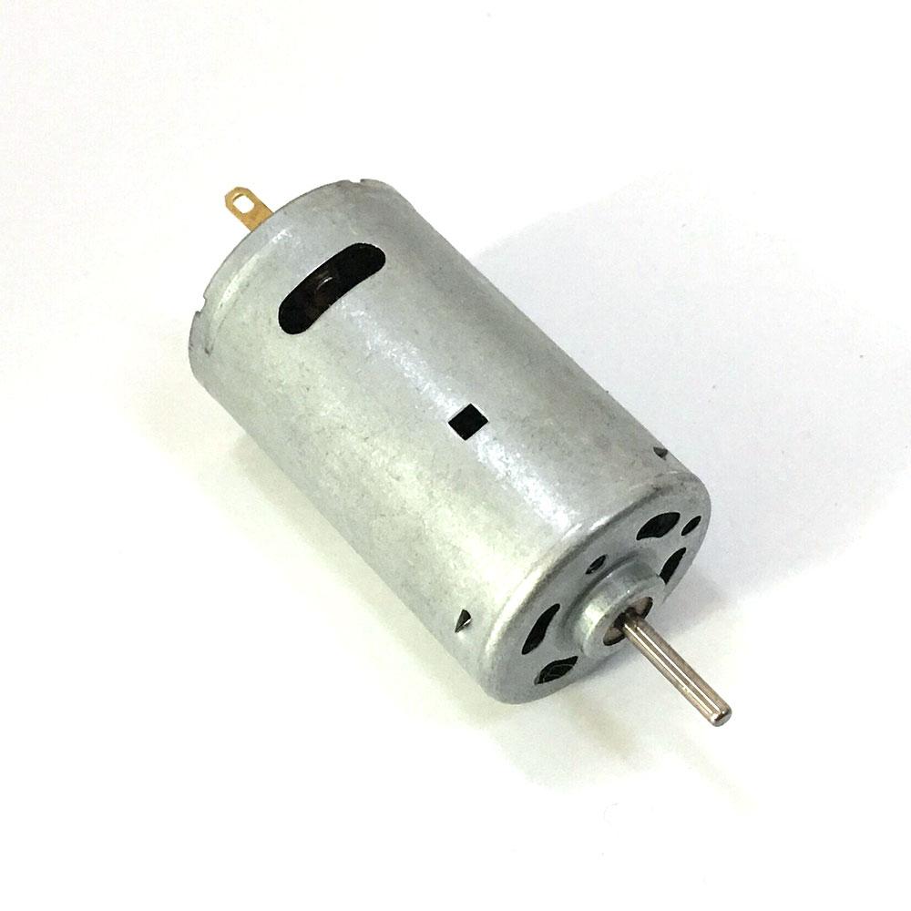 1Pcs DC 6V-24V 395 High Speed Motor Strong Magnetic Large Torque For Tank Model