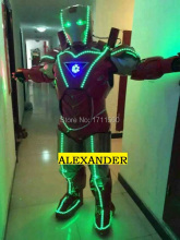 led robot /LED Clothing/ LED Light suits/ LED Robot suits/Glowing iron man
