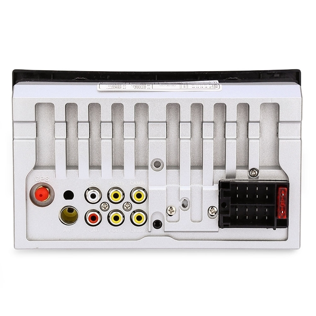 7 inch 2 Din Car Radio GPS Navigation Car Audio Stereo Auto Audio Bluetooth 1080P FM Radio Rear Camera Remote Control