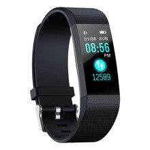 Smart Bracelet Color Screen Heart Rate Blood Pressure Monitoring Sports Steps Sleep Health Wear Waterproof 115plus