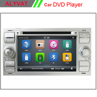 7 дюймовый автомобильный dvd плеер с двумя цифровыми входами для Ford Focus Galaxy Fiesta S Max C Fusion транзит Kuga Indash радио gps навигатор стерео Bluetooth
