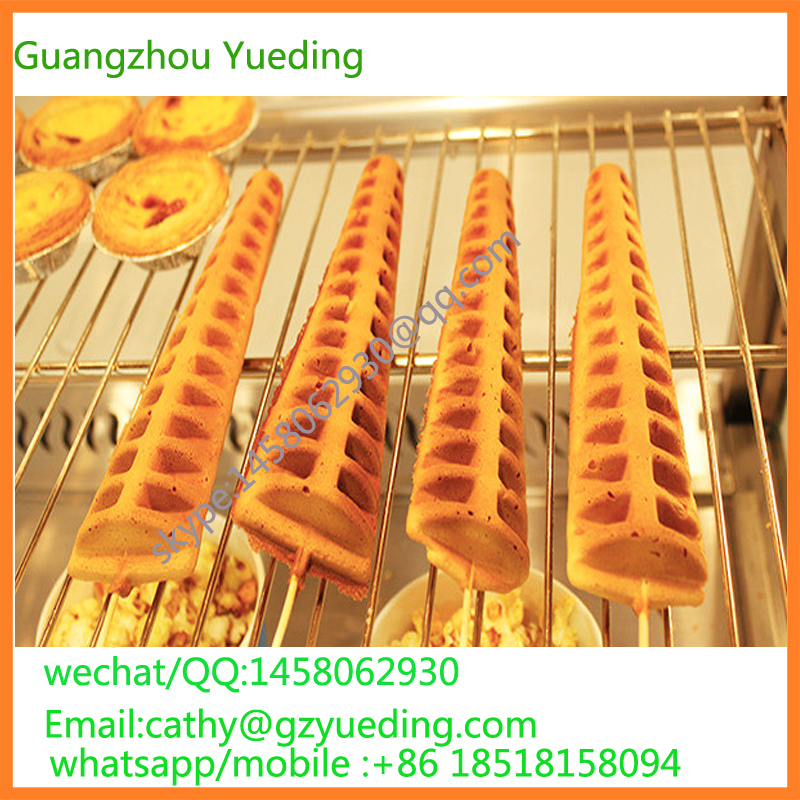 Commercial equipments lolly waffle maker/ hong kong waffle maker/ commercial waffle stick maker lolly waffle maker automatic waffle maker machine