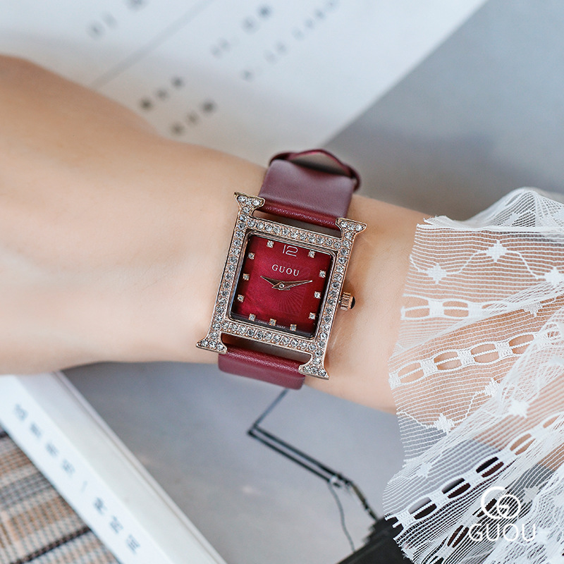 New Women Rhinestone Square Watches Lady Dress Watch Women Luxury Brand Diamond Bracelet Wristwatch Crystal Quartz Clock Women orkina new women rhinestone watches lady dress women watch diamond luxury brand bracelet wristwatch ladies crystal quartz clocks