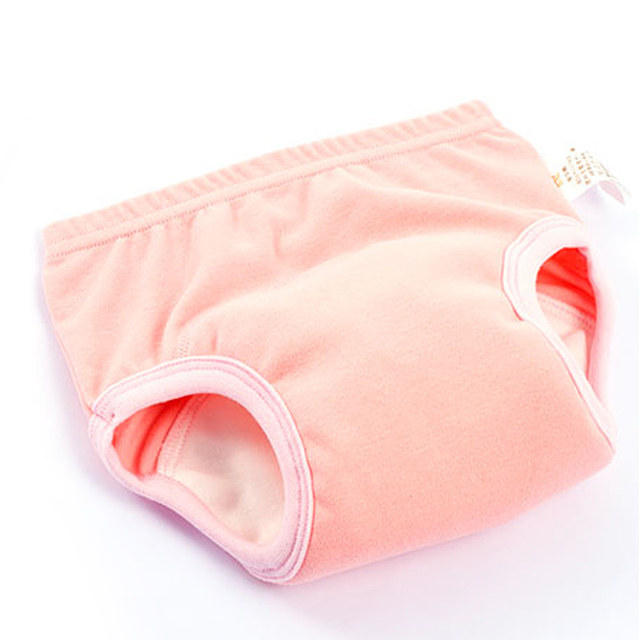 Cotton Cartoon Baby Underwears Toddler Underpants Briefs for Girls Training Panties for Boys Waterproof Reusable Durable Cute