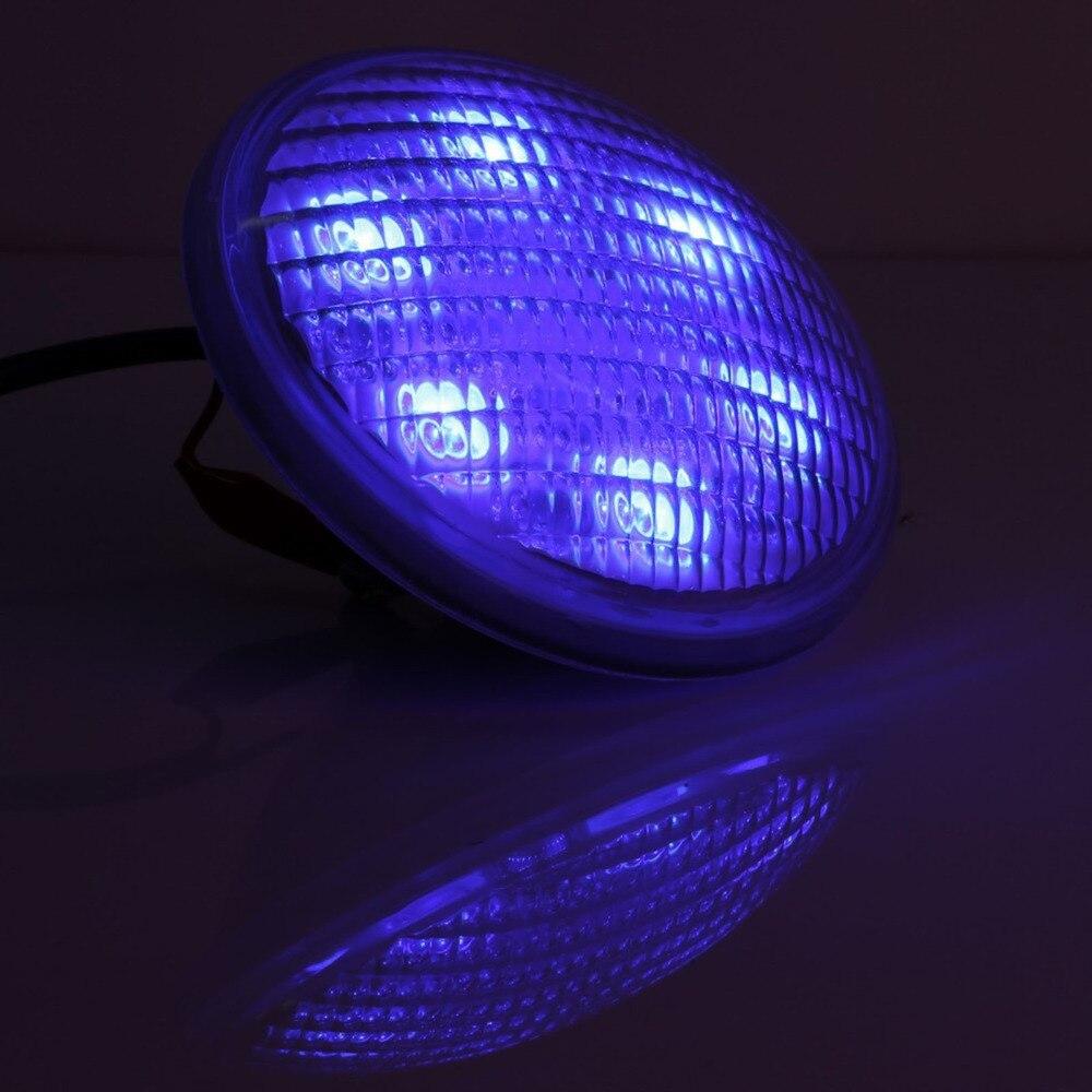DE/CZ Stock en acier Inoxydable + PC télécommande IP68 PAR56 54 w RGB, AC12V LED piscine lumière sous-marine lumière