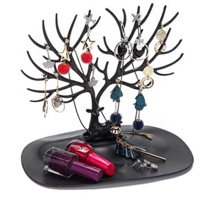 New Style Little Deer Earrings Necklace Ring Pendant Bracelet Jewelry Display Stand Tray Tree Storage Racks Organizer Holder