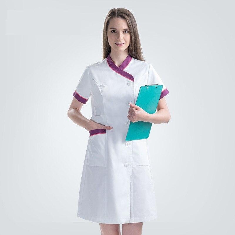 b0b28b2d499 Αγορά Ένδυση εργασίας & στολές | 2018 New Plus Size Nurse Robe ...