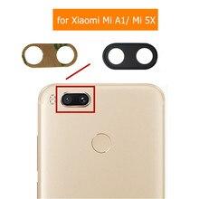 Back Camera Glass Lens for Xiaomi Mi A1/ Mi 5X Main Big Rear Camera Glass Lens with Glue Replacement Repair Spare Parts