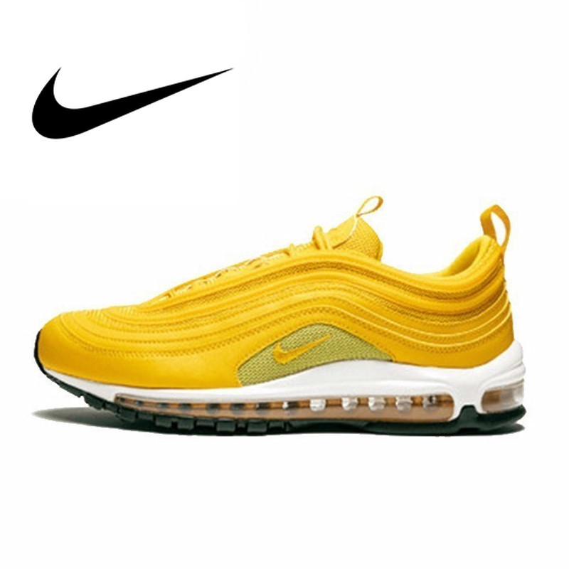 Original Authentic Nike Air Max 97 Womens Running Shoes Sports Outdoor Sneakers Shock Absorbing 2019 New Arrival 9217733-701Original Authentic Nike Air Max 97 Womens Running Shoes Sports Outdoor Sneakers Shock Absorbing 2019 New Arrival 9217733-701