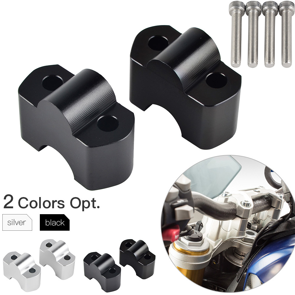 Up 30mm Handlebar Riser Mount Clamp Adapter For <font><b>BMW</b></font> G310R G310GS <font><b>G</b></font> <font><b>310R</b></font> 310GS 2017 2018 2019 Motorcycle Handle Bar Riser image