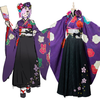 Fate Grand Order Matthew Kyrielite Cosplay Costume New Year Kimono Outfit Halloween Carnival Cosplay Costumes For Women