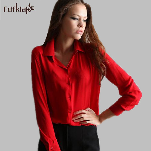 blouse rood zwart