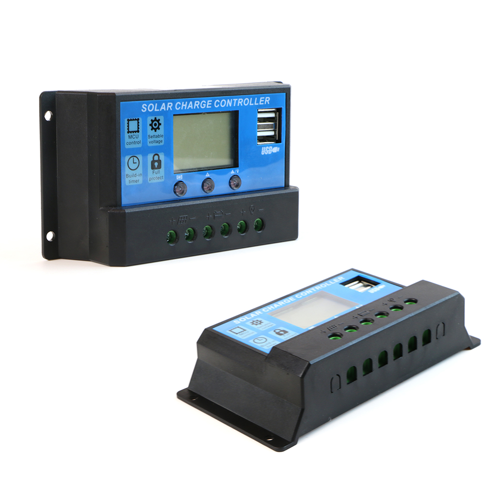 ALLPOWERS Solar Panel Inverter 20A 12V 24V Solar Panel Controller Regulator with LCD Display Advanced Chip Stable more.