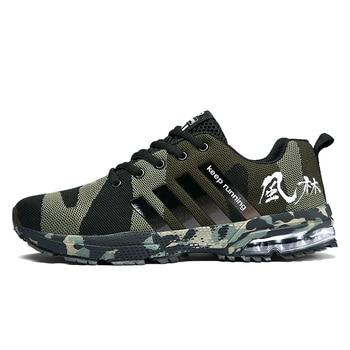 Zapatillas para correr para hombre, zapatos deportivos transpirables para exterior, ligeras, atléticas,...