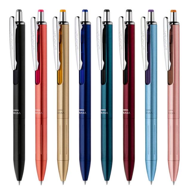 Zebra Sarasa Grand Gel Pen 0,4mm 0,5mm Japón JJ55 JJS55, bolígrafo de Metal