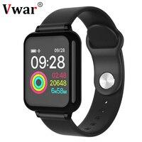 Vwar W4 Smart Watch Fitness Bracelet Blood Pressure Oxygen Heart Rate Monitor IP67 Men Women Sport Smartwatch for Apple Xiaomi