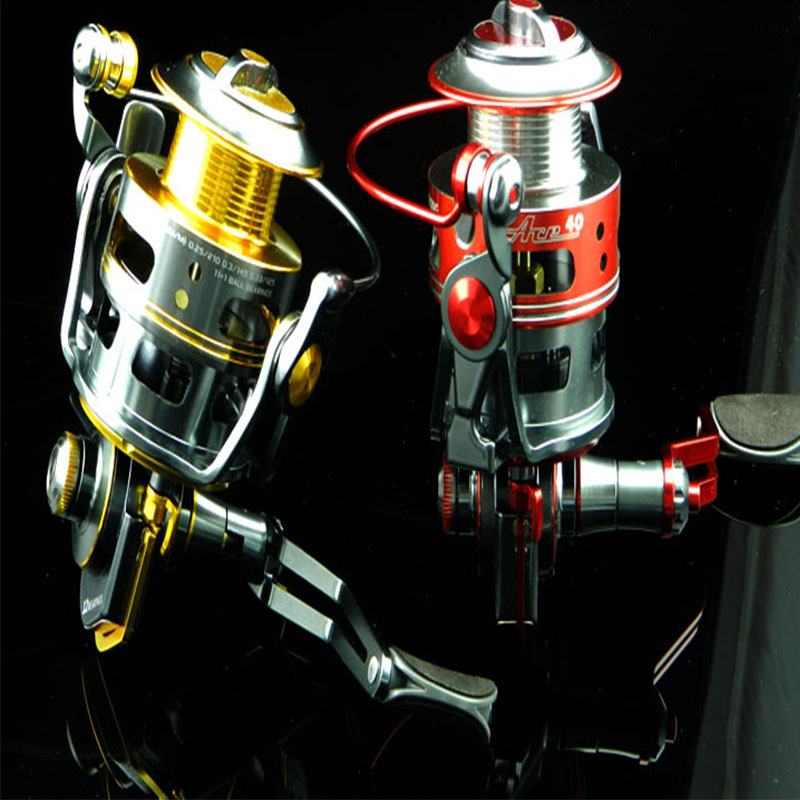 HENGJIA 2pcs quality metal fishing reels Kate 4000 ultra-light  waterproof spinning pike carp sea isca pesca fishing tackles aqua nl ultra pike щука 150m 0 30mm 8 6kg