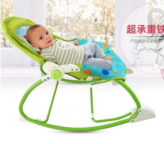 Elektrische Schommelstoel Voor Babys.Us 105 7 Groene Kleur Multifunctionele Baby Schommelstoel Elektrische Baby Bouncer Schommel Peuter Rocker Baby Wieg Wieg In Groene Kleur