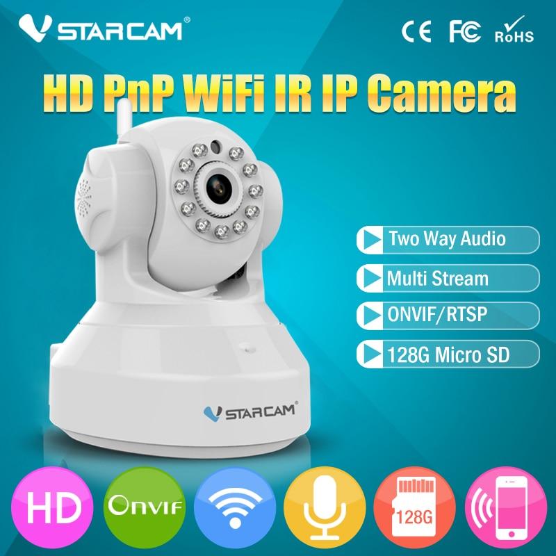 Vstarcam C7837WIP 720P wifi camera Home Video Surveillance wireless webcam IR Night Vision support SD card Security Camera Eye4