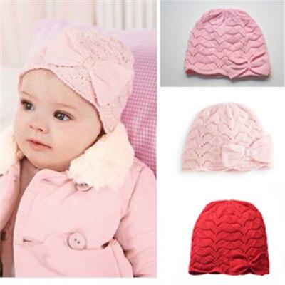 Nueva sping del otoño invierno del bebé del ganchillo sombrero del bebé niños  de los niños b26438a15bd
