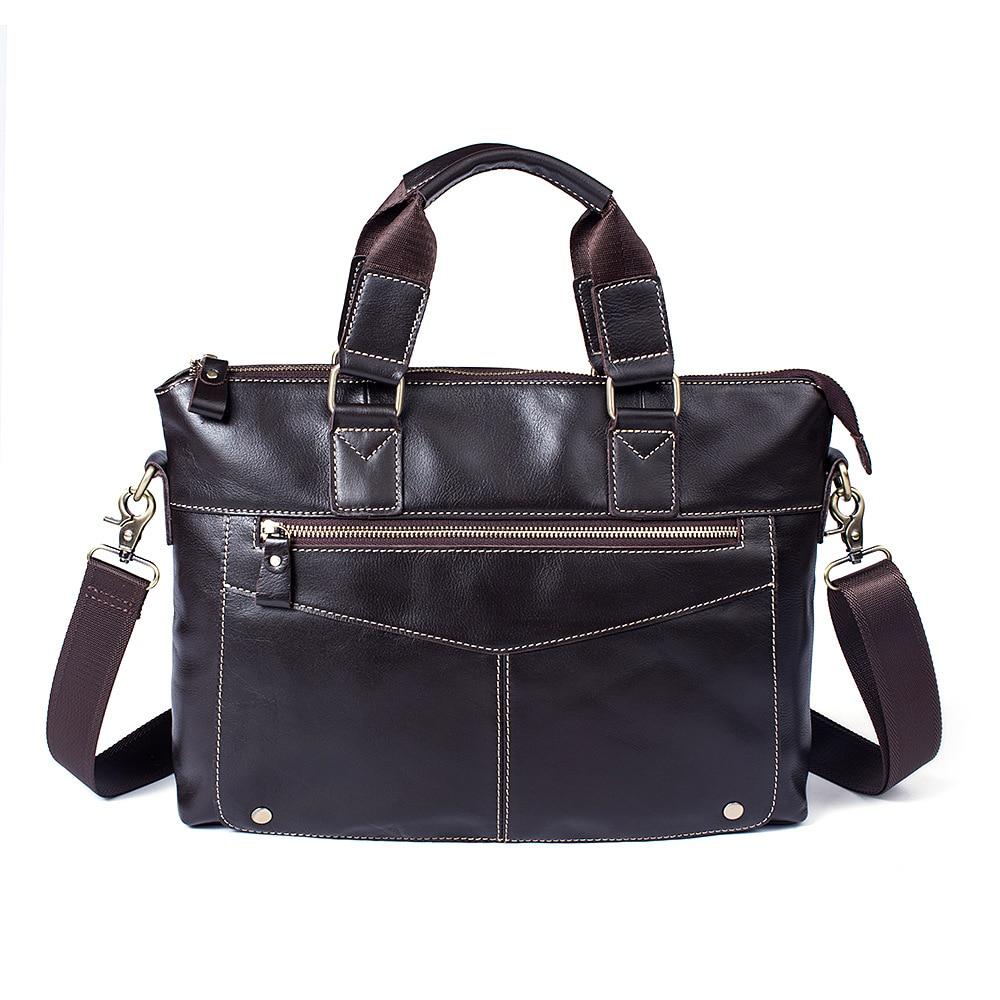 2018 Ny mode cowhide manlig kommersiell portfölj / Real Leather - Portföljer